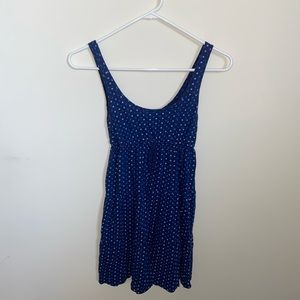 Aerie Blue Polka Dot Nightgown Size XS